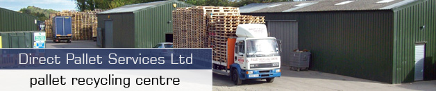 Direct Pallet Servicess- New Wooden Pallets - Reconditioned Pallets - Pallet Collections - Pallet Recycling - ISPM15 Pallets - Contact Direct Pallet Services  recycling centre
